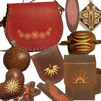 Prodotti in cuoio: Accessori cuoio pelle realizzati a mano