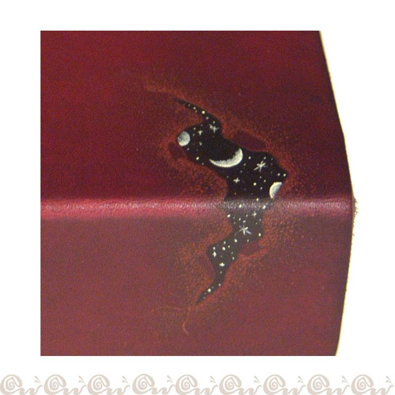 Cofanetto scatola cuoio Universo