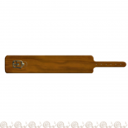 bracciale cuoio fibbia 3,5 cm