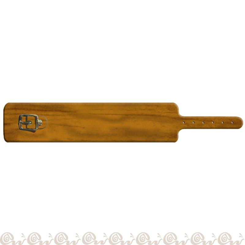 Bracciale cuoio fibbia 4 cm