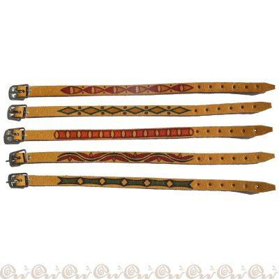 bracciali crosta decorati giallo