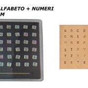 bulini per alfabeto e numeri