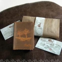 porta carte credito decorato