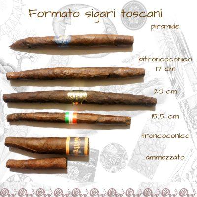 formati sigari toscani