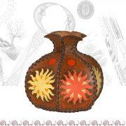 vaso piccolo bombato