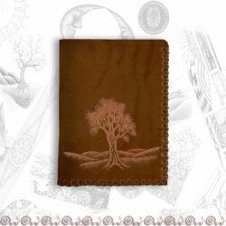 portafoglio mini con albero