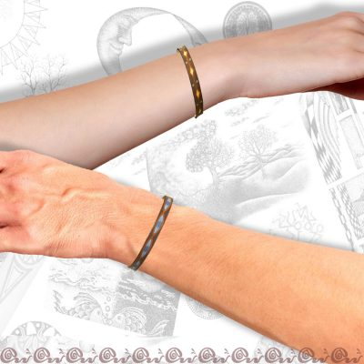 esempi di bracciale 0,7 cm