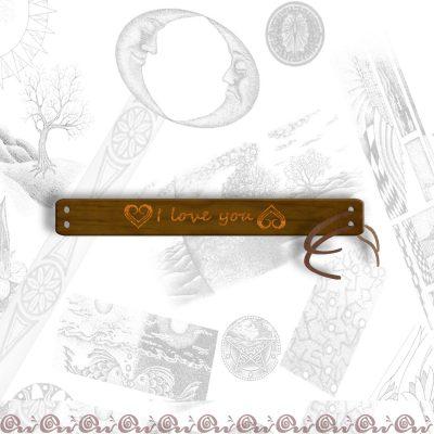 bracciale 2 cm personalizzato