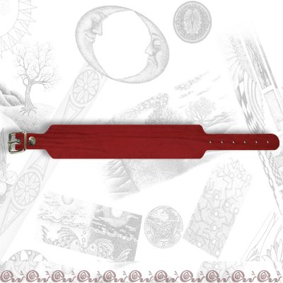 bracciale con fibbia 3 cm
